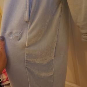 PINK Victoria's Secret Pants - 💕VS PINK VELVET STRIPE SWEATSUIT